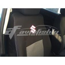 Чехлы на сиденья для Suzuki Vitara 2015-... EMC Elegant