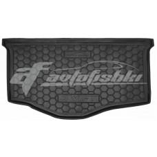Резиновый коврик в багажник для Suzuki Swift IV 2012-... Avto-Gumm