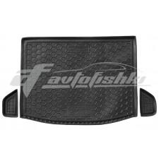Резиновый коврик в багажник для Suzuki SX4 II 2014-2020 Avto-Gumm