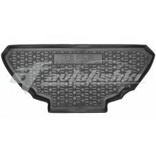 Резиновый коврик в багажник для Tesla Model X передний 2016-... Avto-Gumm