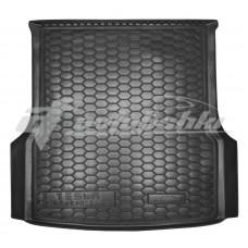Резиновый коврик в багажник для Tesla Model S (задний) 2012-... Avto-Gumm