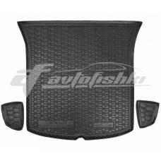 Резиновый коврик в багажник для Tesla Model Y 2020-... Avto-Gumm