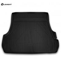 Гумовий килимок в багажник на Toyota Land Cruiser 200 (5 місць) 2012-2020 Novline (Element)