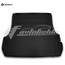Резиновый коврик в багажник на Toyota Land Cruiser 200 (5 мест) 2012-2020 Novline (Element)
