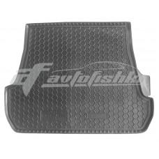 Резиновый коврик в багажник для Toyota Land Cruiser 200 (5 мест) 2007-2012 Avto-Gumm
