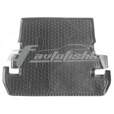 Резиновый коврик в багажник для Toyota Land Cruiser 200 (7 мест) 2007-2012 Avto-Gumm
