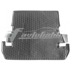 Резиновый коврик в багажник для Toyota Land Cruiser 200 (7 мест) 2012-2016 Avto-Gumm