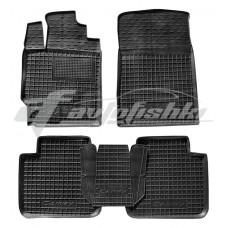 Резиновые коврики в салон для Toyota Camry V40 2006-2011 Avto-Gumm