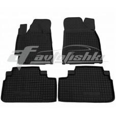 Резиновые коврики в салон для Toyota Highlander II 2008-2014 Avto-Gumm