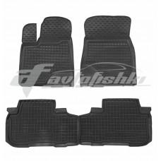 Резиновые коврики в салон для Toyota Highlander 2014-... Avto-Gumm