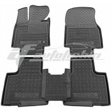 Резиновые коврики в салон для Toyota Highlander IV 2020-... Avto-Gumm