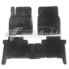 Резиновые коврики в салон для Toyota Land Cruiser 200 2007-2012 Avto-Gumm