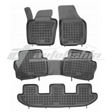 Коврики в салон резиновые для Volkswagen Sharan II (7 мест) 2010-... Rezaw-Plast