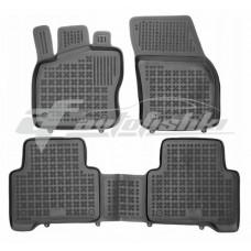 Коврики в салон резиновые для Volkswagen Touran III 2015-... Rezaw-Plast