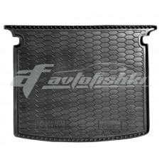 Резиновый коврик в багажник для Volkswagen Caddy Life (5 мест) 2010-... Avto-Gumm