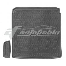 Резиновый коврик в багажник для Volkswagen Passat B7 Sedan (седан) 2010-2015 Avto-Gumm