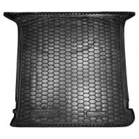 Резиновый коврик в багажник для Volkswagen Sharan I (5 мест) (длинный) 1995-2010 Avto-Gumm