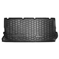 Резиновый коврик в багажник для Volkswagen Sharan I (7 мест) (короткий) 1995-2010 Avto-Gumm