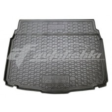 Резиновый коврик в багажник для Volkswagen T-Roc (нижняя полка) 2017-... Avto-Gumm