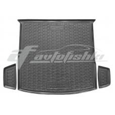 Резиновый коврик в багажник для Volkswagen Tiguan Allspace 2018-... Avto-Gumm