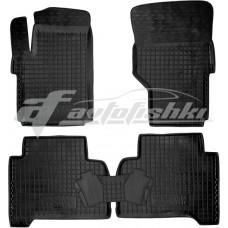 Резиновые коврики в салон для Volkswagen Amarok 2010-... Avto-Gumm