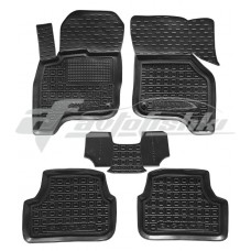 Резиновые коврики в салон для Volkswagen Golf VII (электро) 2012-... Avto-Gumm