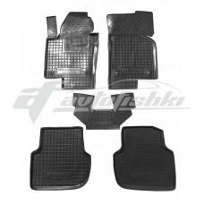 Резиновые коврики в салон для Volkswagen Jetta VI 2010-2018 Avto-Gumm