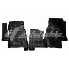 Резиновые коврики в салон для Volkswagen LT 28/35/46 1996-2006 Avto-Gumm