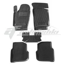 Резиновые коврики в салон для Volkswagen Polo Sedan (седан) 2010-2020 Avto-Gumm