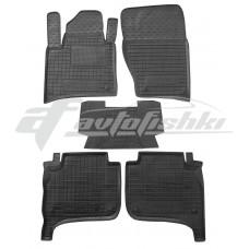 Резиновые коврики в салон для Volkswagen Touareg II 2010-2018 Avto-Gumm