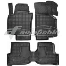 Резиновые коврики в салон для Volkswagen Golf VI 2008-2013 Avto-Gumm