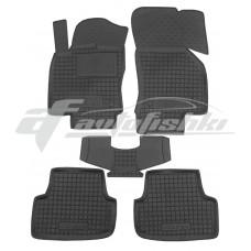 Резиновые коврики в салон для Volkswagen Golf VII 2012-... Avto-Gumm