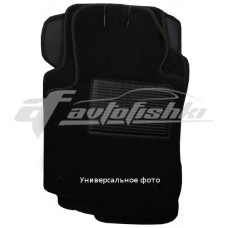Коврики ворсовые в салон для Volvo C30 2006-2013 черные, Украина