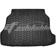 Резиновый коврик в багажник для Zaz (ЗАЗ) Forza Hatchback (хэтчбек) 2011-2017 Avto-Gumm