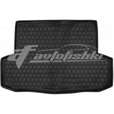 Резиновый коврик в багажник для Zaz (ЗАЗ) Vida Sedan (седан) 2012-... Avto-Gumm