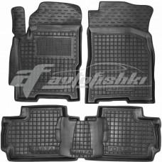 Резиновые коврики в салон для Zaz (ЗАЗ) Forza 2011-... Avto-Gumm