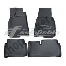 Коврики в салон резиновые для TESLA Model S 2012-… L.Locker