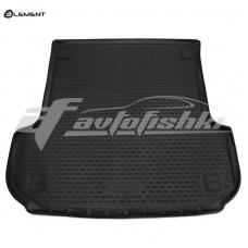 Резиновый коврик в багажник на Mitsubishi Pajero Sport III 2016-... Novline (Element)