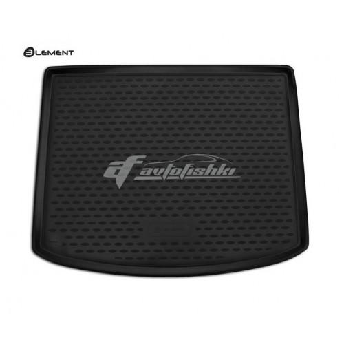 Резиновый коврик в багажник Volvo V40 2012-... Novline