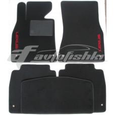 Коврики текстильные для Lexus LS 460 Черные