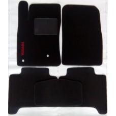 Коврики текстильные для Toyota Land Cruiser Prado 120 `03- Черны