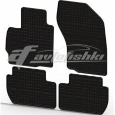 Коврики резиновые на FIAT Scudo I 1996-2006 черные 3 шт.