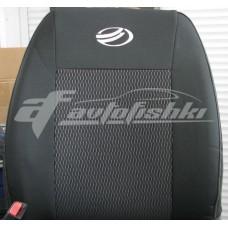 Чехлы на сиденья для ЗАЗ Zaz Vida Sedan (седан) 2012-... EMC Elegant