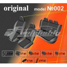 Чехлы на сиденья для Mitsubishi Lancer 9 Sedan 2000-2010 EMC Elegant