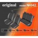 Чехлы на сиденья для Dacia Logan MCV 5 мест с 2006 г деленная