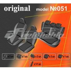 Чехлы на сиденья для Hyundai Sonata NF (раздельная спинка) 2004-2010 EMC Elegant