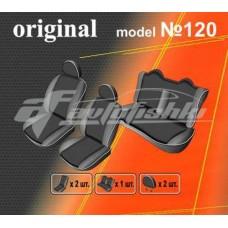 Чехлы на сиденья для Hyundai Sonata NF (цельная спинка) 2004-2010 EMC Elegant