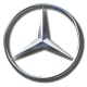 Накладки на пороги для Mercedes