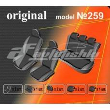 Чехлы на сиденья для Nissan Juke (YF15) с 2010 г