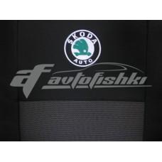 Чехлы на сиденья для Skoda Fabia I Sedan (седан) (раздельная) 2001-2007 EMC Elegant